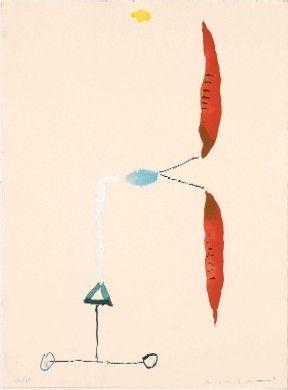 Engraving Riera I Aragó - Avió hèlix vermella