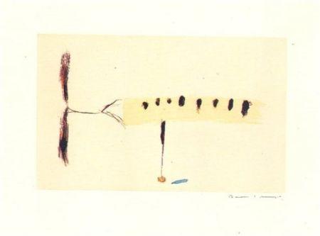Etching Riera I Aragó - Avió mig-4