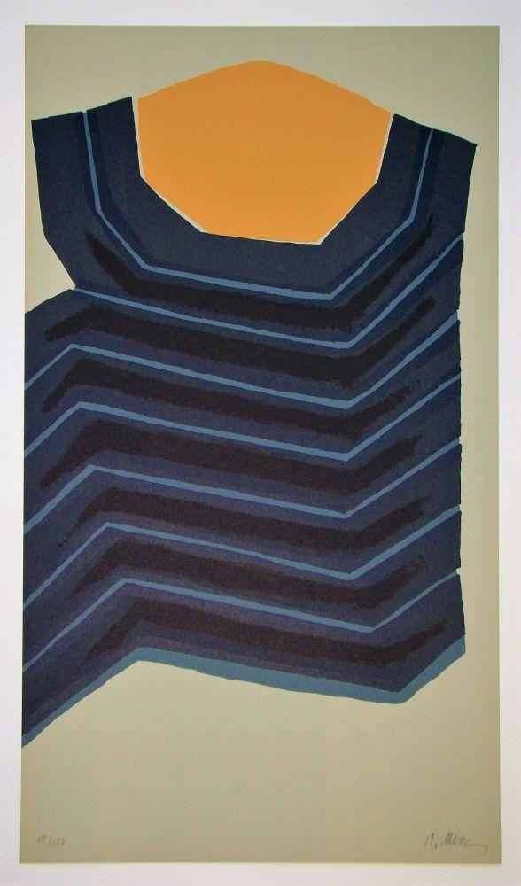 Lithograph Ubac - AVL Zürich, 1974