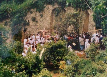 Photography Nitsch - Azione N. 96 – Giardini S. Martino A Napoli