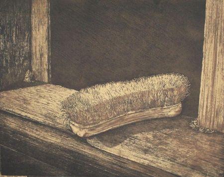 Lithograph Siegert - Bürste / Brush