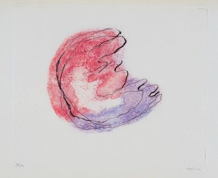 Etching And Aquatint Fautrier - Baby-Mine