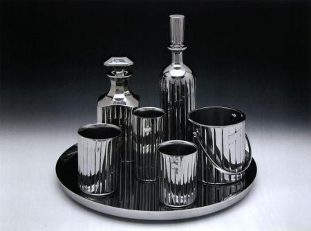 Lithograph Koons - Baccarat Crystal Set