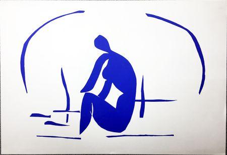 Lithograph Matisse - Baigneuse Dans Les Roseaux. Lithographie pour VERVE. 1958