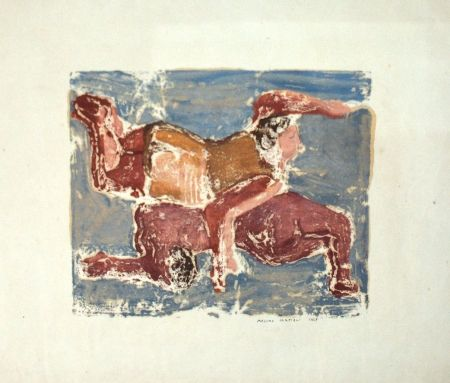 Monotype Campigli - Baigneuses
