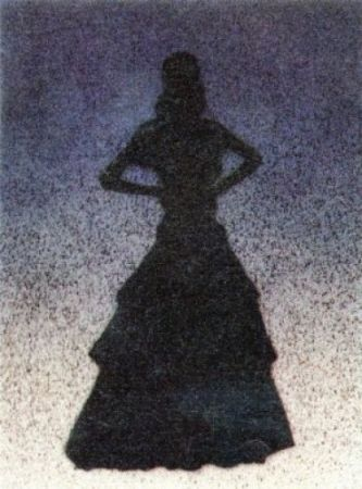 Lithograph Ruscha - Bailarina