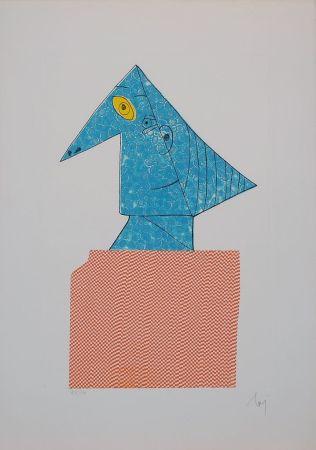 Etching Baj - Baj chez Picasso 1