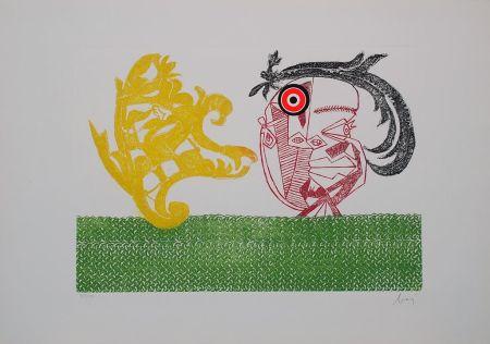 Etching Baj - Baj chez Picasso 2