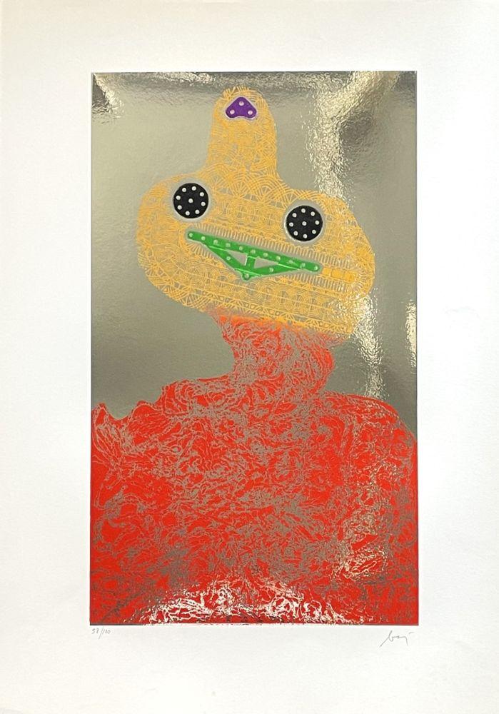 Etching Baj - Baj chez Picasso 7