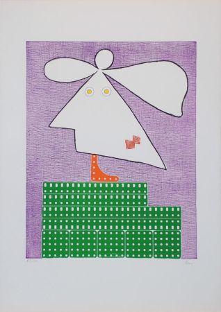 Etching Baj - Baj chez Picasso 9