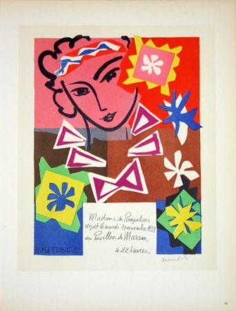 Lithograph Matisse - Bal de L'Ecole des Arts Décoratifs  1951