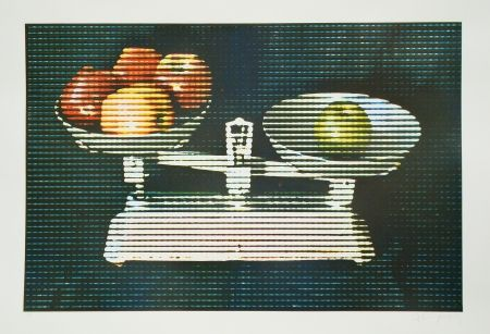 Etching And Aquatint Jacquet - Balance et fruits