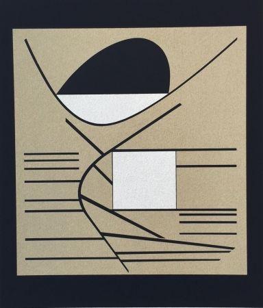 Screenprint Vasarely - Balaton, from ion Album