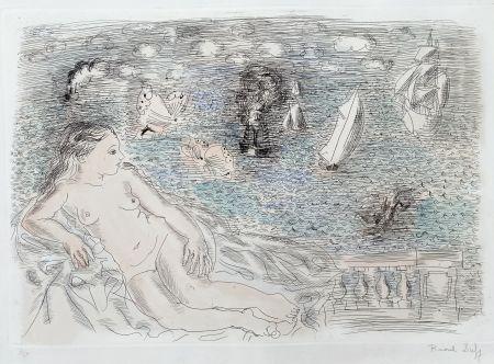 Multiple Dufy - Balcon Sur La Mer (Baigneuse aux Papillons)