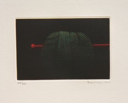 Mezzotint Hamaguchi - Ball of Green Yarn