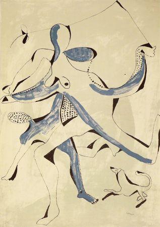 Lithograph Ramis - Ballarins