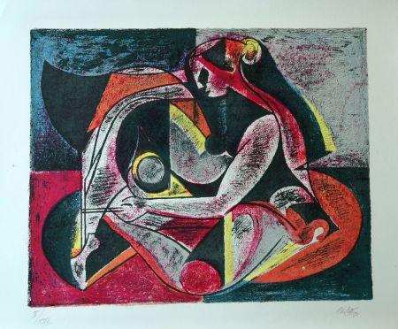 Lithograph Carletti - Balletti 2