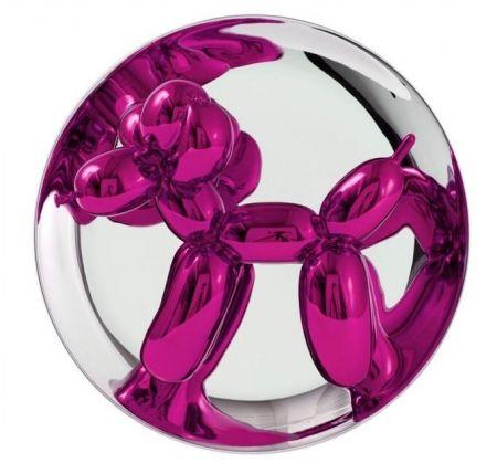 No Technical Koons - Balloon Dog magenta