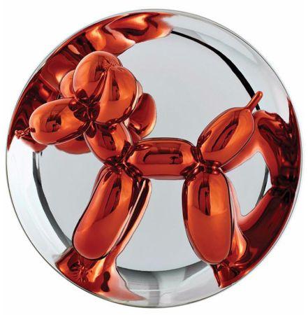 Ceramic Koons - Balloon Dog (Orange)