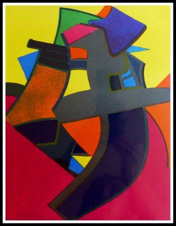 Lithograph Esteve - BALMOURE