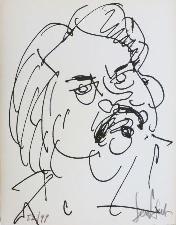 Lithograph Paul  - Balzac