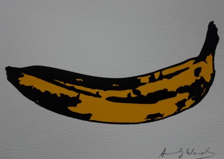 Screenprint Warhol (After) - Banana