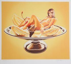 Lithograph Ramos - Banana Split