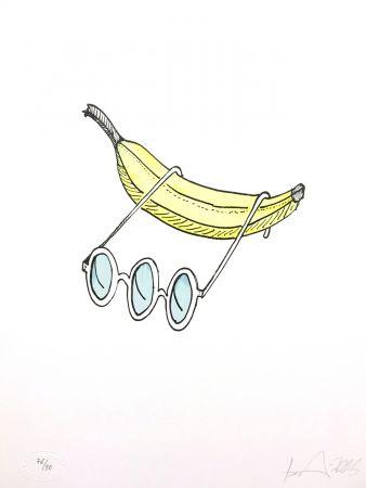 Lithograph Nørgard - Banane