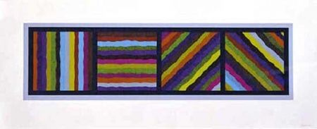 No Technical Lewitt - Bands Not Straight in Four Directions (multicoloured)