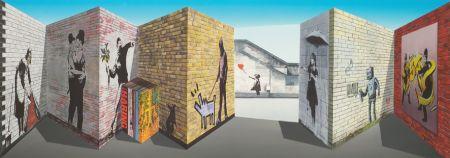 Multiple Hughes - Banksy