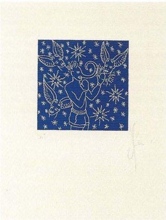 Lithograph Ucles - Barallar-se amb la consciència