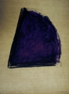 Lithograph Bechtold - Barcelona