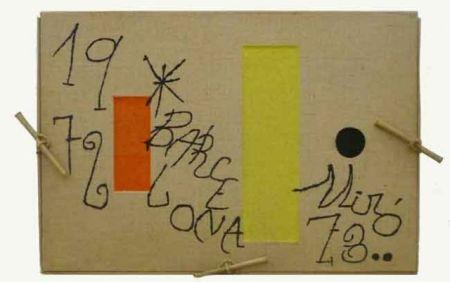 Etching Miró - Barcelona 1972-1973