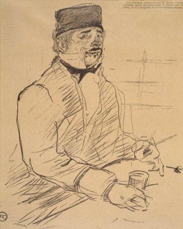 Lithograph Toulouse-Lautrec - Baron - Le Rire