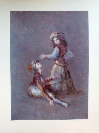 Lithograph Fini - Barucco