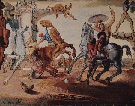 Multiple Dali - Bataille autour d'un pissenlit (art rug)