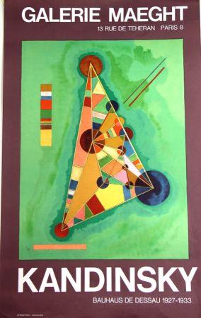 Lithograph Kandinsky - Bauhaus de Dessau  Galerie Maeght