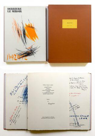 Illustrated Book Bazaine - BAZAINE. Derrière le miroir, n° 197. 1972. TIRAGE DE LUXE SIGNÉ.