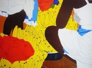 Lithograph Hoyos - Bazurto