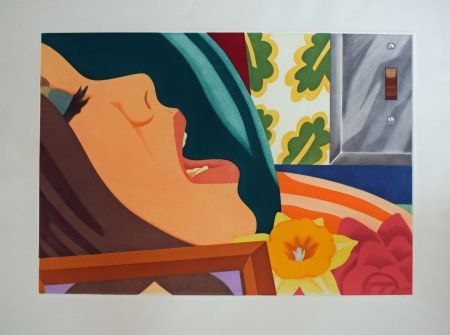Aquatint Wesselmann - Bedroom face