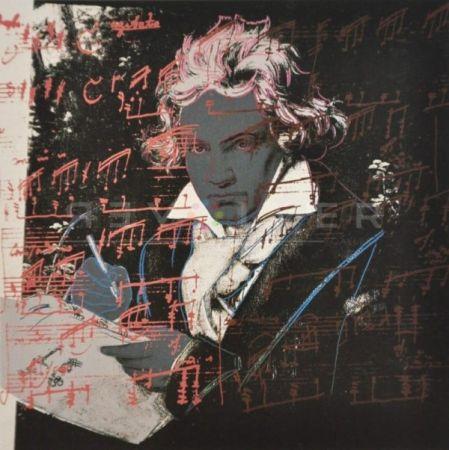 Screenprint Warhol - Beethoven (Fs Ii.391)