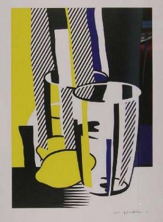 Lithograph Lichtenstein - BEFORE THE MIRROR