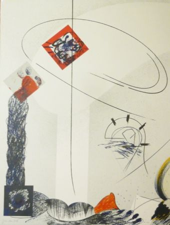 Lithograph Duran Benet - BELIZE 2