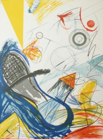 Lithograph Duran Benet - BELIZE 9