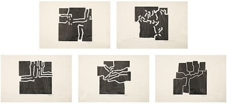 Illustrated Book Chillida - Beltza