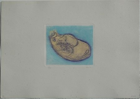 Etching And Aquatint Fautrier - Bergeronnette