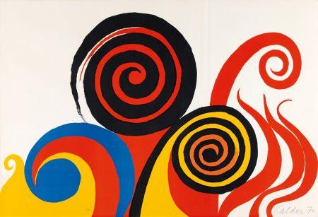 Lithograph Calder - Berkeley