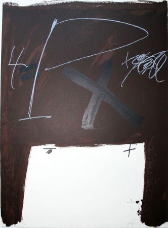 Lithograph Tàpies - Berlin suite