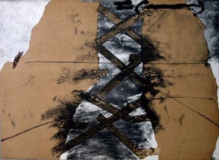 Lithograph Tàpies - Berliner-Suite
