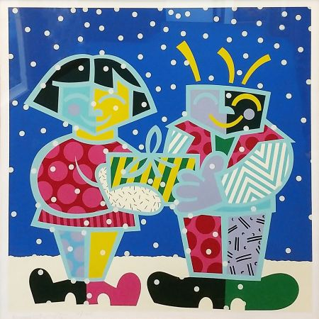 Screenprint Britto - BEST BUDDIES